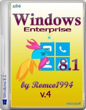 Windows 8.1 Enterprise (x86) v.4 by Romeo1994