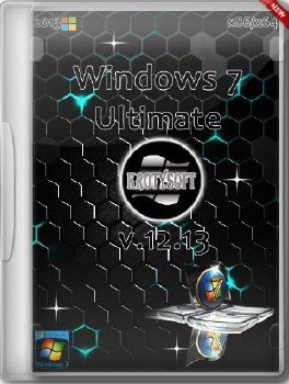 Windows 7 Ultimate x86/x64 KrotySOFT v.12.13