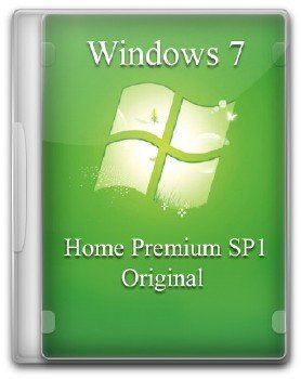 Windows 7 Home Premium SP1 Original by A.L.E.X (2013/RUS/ENG)