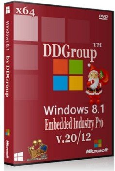 Windows Embedded 8.1 Industry Pro x64 [ v.20.12 ] by DDGroup™ (2013)