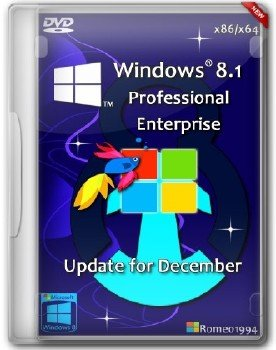 Windows 8.1 Professional / Enterprise 32bit+64bit Update for December Romeo1994