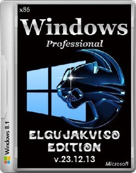 Windows 8.1 Pro x86 Elgujakviso Edition (v22.12.13) [Ru]