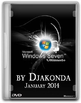 Windows 7 Ultimate SP1 x64 January 2014 - Djakonda [En]