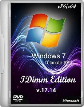 Windows 7 Ultimate SP1 IDimm Edition х86/x64 v.17.14
