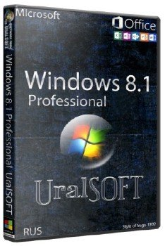 Windows 8.1x64 Pro & Office2013 UralSOFT v.14.9