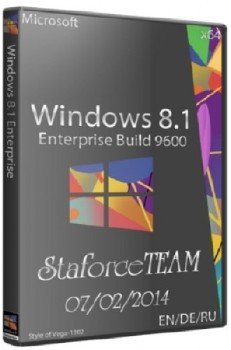 Windows 8.1 RTM Build 9600 x64 Enterprise StaforceTEAM