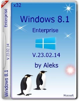 Windows 8.1 Enterprise v.23.02.14 by Aleks (32bit)
