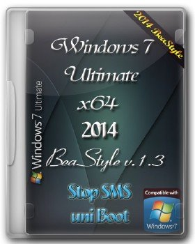 Windows 7 Ultimate BeaStyle v.1.3 (x64) (2014)