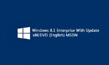 Windows 8.1 Enterprise With Update DVD MSDN (x86) (2014) [English]