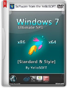 Windows 7 Ultimate SP1 Standard & Style by YelloSOFT