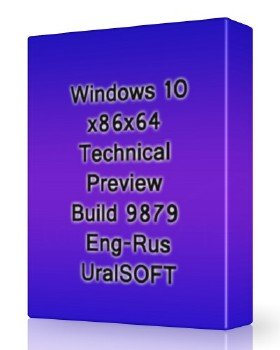 Windows 10x86x64 Technical Preview Build 9879 Eng-Rus