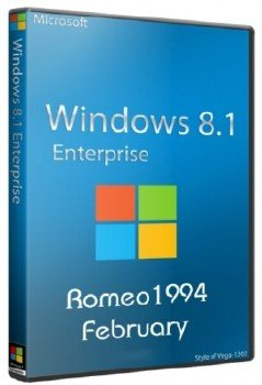 Windows 8.1 Enterprise x64 Update For February by Romeo1994