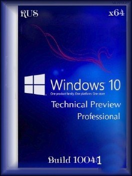 Windows 10 Professional Technical Preview Build 10041 (x64) (Rus)