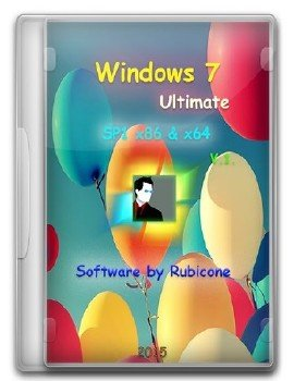 Windows 7 Ultimate SP1 x86&x64 [v.1] by Rubicone [Ru]