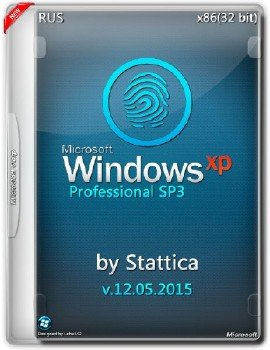 Windows® XP Pro SP3 (v12.05.2015) by Stattica [Ru]