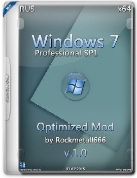 Windows 7 SP1 Professional X64 Optimized Mod by Rockmetall666