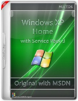 Microsoft Windows XP Home with Service Pack 3 - Оригинальные образы от Microsoft MSDN (Multi26)