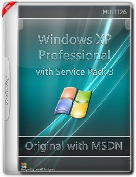 Microsoft Windows XP Professional with Service Pack 3 - Оригинальные образы от Microsoft MSDN (Multi26)