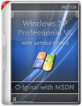 Microsoft Windows XP Professional VL with Service Pack 3 - Оригинальные образы от Microsoft MSDN (Multi26)
