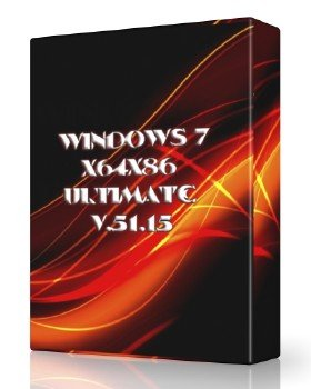 Windows 7x64x86 Ultimate v.51.15