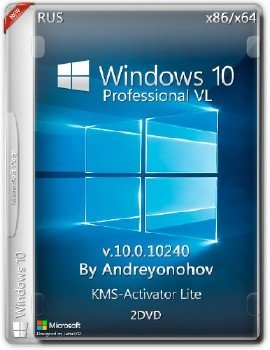 Windows 10 Pro VL 10240 x86/x64 2DVD [Ru]