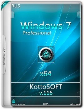 Windows 7 Professional KottoSOFT v.116 (х64) (RUS)