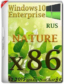 Windows 10 Enterprise x86 NATURE