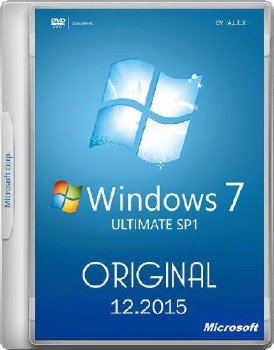 Windows 7 Ultimate SP1 Original 25.12.2015 -A.L.E.X.-