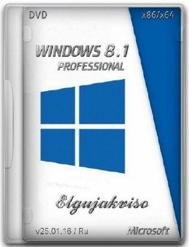Windows 8.1 Pro VL (x86/x64) Elgujakviso Edition (v25.01.16)