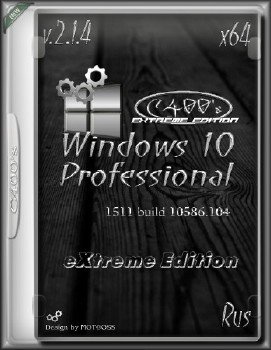 Windows 10 eXtreme Edition 2.1.4 by C400's