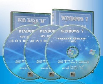 Windows 7 SP1 ALL CLASSIC RUSSIAN PROJECT ©SPA 2011[12.05.11]