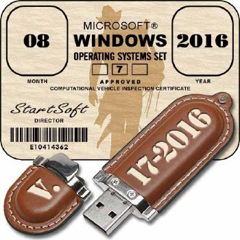 Windows 7 SP1 x86 x64 AIO StartSoft 17-2016 [Ru]