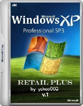 Windows® XP Professional SP3 RETAIL Plus v1 [Ru/En]