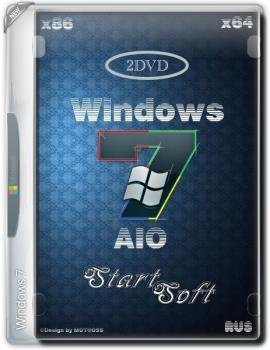Сборка Windows 7 SP1 AIO x86 x64 DVD StartSoft