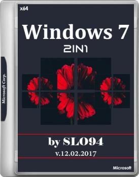 Windows 7 (X64) BY SLO94 [2in1] [Русские]