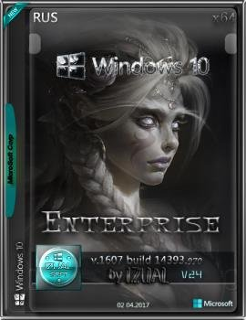 Windows 10 Enterprise LTSB 14393.970 v.1607 by IZUAL v.24 (x64) (2017) [Русская]