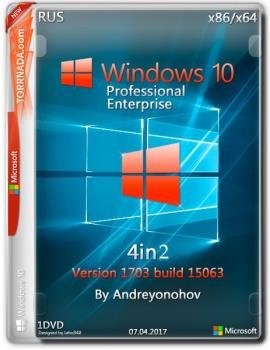 Windows 10 Pro/Enterprise 15063 Version 1703 (Updated March 2017) x86/x64 [4in2] DVD