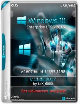 Windows 10 Enterprise LTSB 2016 v1607 (x86/x64) by LeX_6000 [11.05.2017] [Русская]