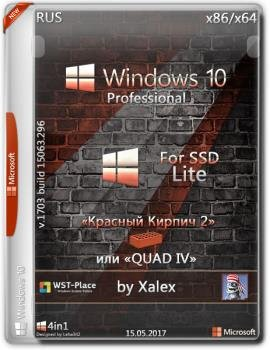 Windows 10 Pro x86/x64 Lite 1703.15063.296 For SSD by Xalex