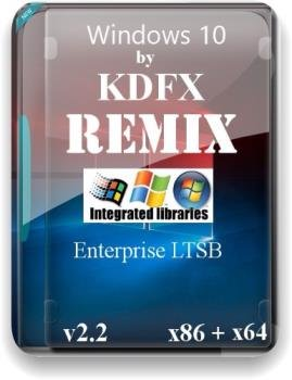 Windows 10 Enterprise LTSB ReMix v.2.2 by KDFX