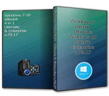 Windows 7-10x86x64 4 in 1 Ultimate & Enterprise