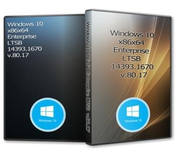 Windows 10x86x64 Enterprise LTSB 14393.1670 Русская (Uralsoft)