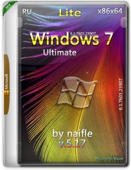 Windows 7 Ultimate SP1 x86/x64 Lite v.5.17 by naifle