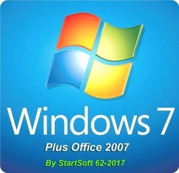 Windows 7 SP1 AIO Plus Office 2007 Release By StartSoft 62-2017