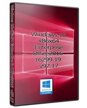 Windows 10 32/64bit Enterprise + Office2016 16299.19
