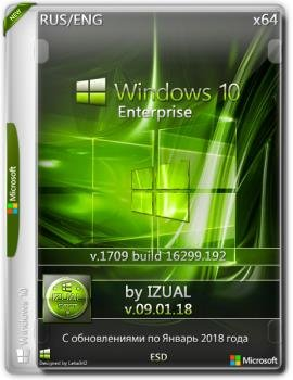 Windows 10 Enter 1709 With Update (16299.192) x64 by IZUAL