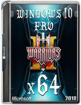 Windows 10 professional WARRIORS OF GAMES by novik (mini) (x64)