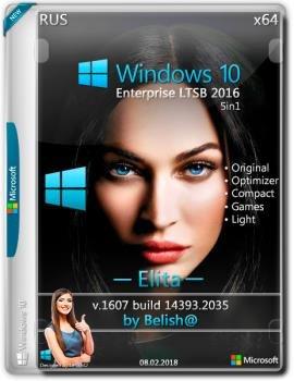 Торрент windows 10 enterprise ltsb 2016 v1607 (x86/x64) by.