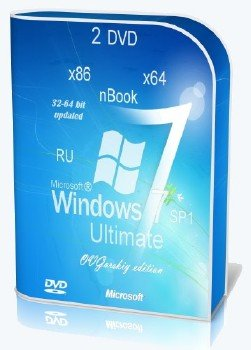 Windows 7 Ultimate Ru x86/x64 nBook IE11 by OVGorskiy® 11.2013 2 DVD [Ru]