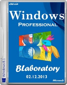 Windows 8.1 Pro x86 x64 BLaboratory 02.12.2013 [Ru]